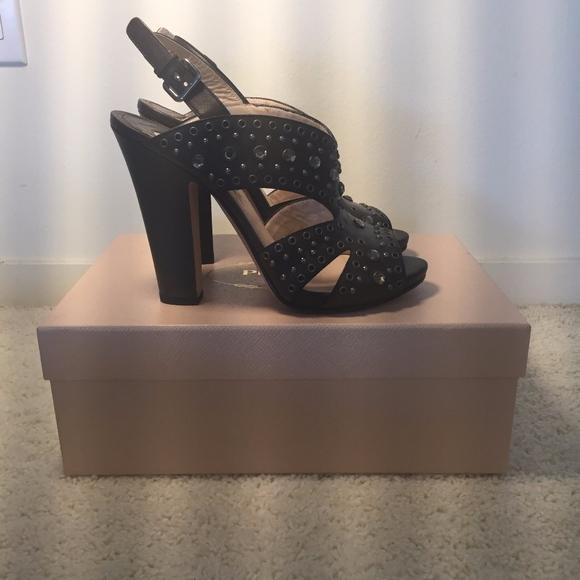 Prada Shoes - PRADA VITELLO VINTAGE EBANO